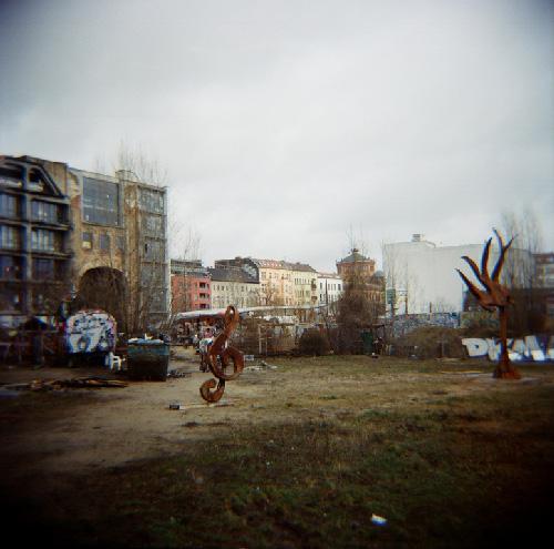 Jardin du Tacheless, Berlin