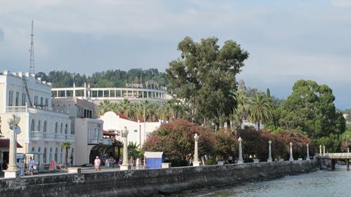 Bord de mer, hôtel Abkhazie