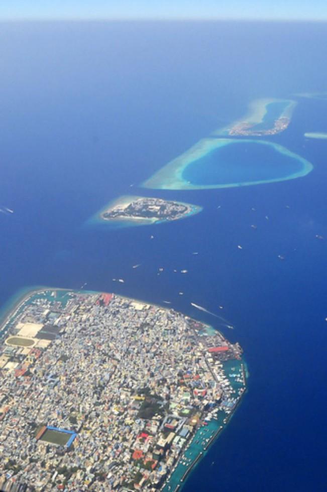 Malé, capitale de la république des Maldives. Crédit: nattu/ Flickr