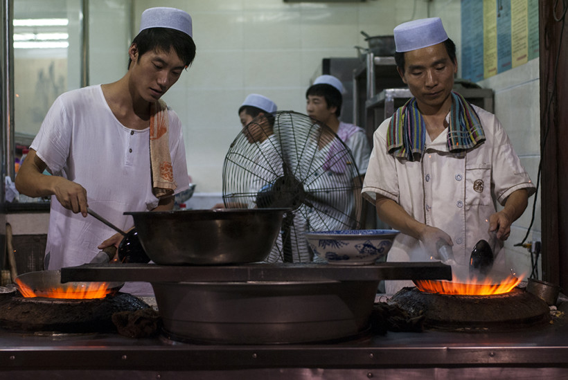 Cuisiniers Xi'an 2